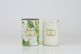 George & Edi Grande Candle 150hrs burn time